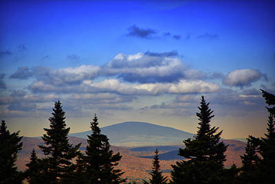 Photograph - Vermont From Mount Greylock Summit by Raymond Salani III