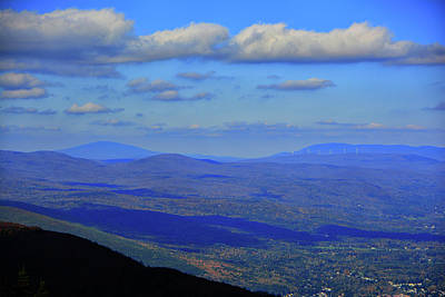 Art Print featuring the photograph Vermont From The Summit Of Mount Greylock 3 by Raymond Salani III