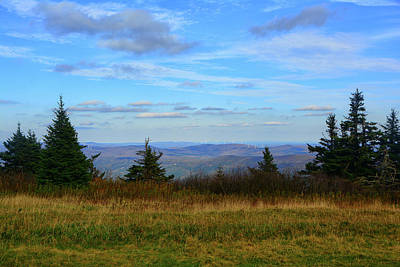 Art Print featuring the photograph Vermont From The Summit Of Mount Greylock by Raymond Salani III