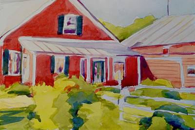 Painting - Vermont House  by Jo Mackenzie
