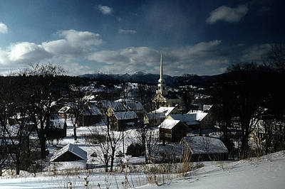 Vermont Photograph - Vermont Village by Michael Ochs Archives