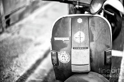 Photograph - Vespa In Florence by John Rizzuto