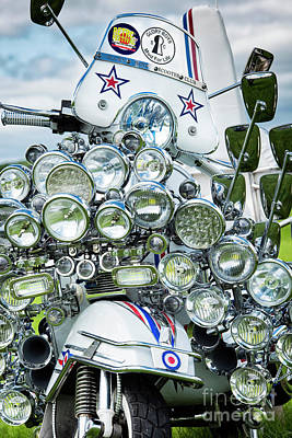 Photograph - Vespa by Tim Gainey