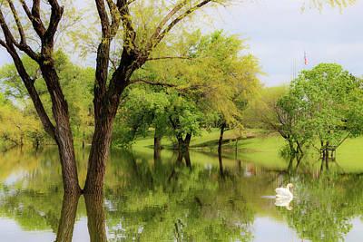 Photograph - Veteran's Lake 01 by Rob Graham