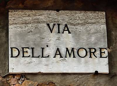 Photograph - Via Dell'amore by Dorothy Berry-Lound