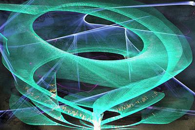 Digital Art - Vibes by Gerlinde Keating