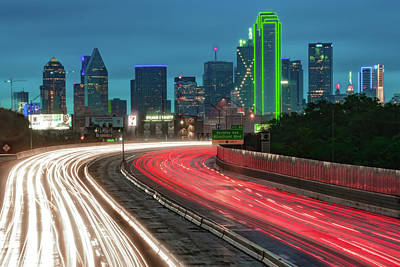 Royalty-Free and Rights-Managed Images - Vibrant Colors of Dallas Texas by Gregory Ballos