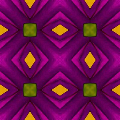 Digital Art - Vibrant Geometric Design by Susan Rydberg