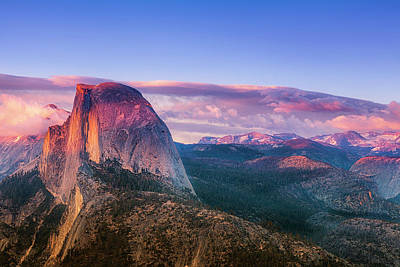 Royalty-Free and Rights-Managed Images - Vibrant Half Dome by Andrew Soundarajan