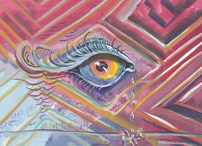 Painting - Vibrant World by Sheri Jo Posselt
