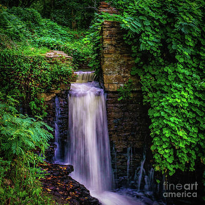 Photograph -  Vickery Creek Dam by Nick Zelinsky