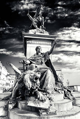 Photograph - Victor Emmanuel II Monument Venice by John Rizzuto