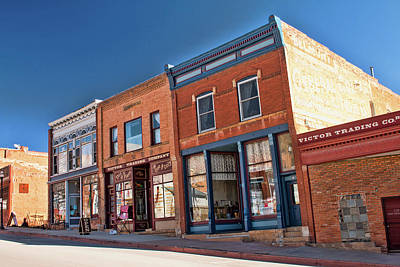 Photograph - Victor Trading Company by Kristia Adams