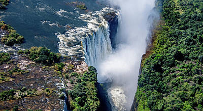 Lovely Lavender - Victoria Falls, Natural Wonder by Marcy Wielfaert