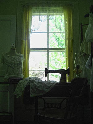Photograph - Victorian Style Sewing Room by Tatiana Travelways