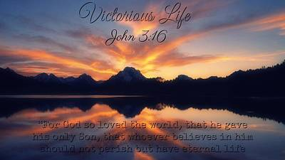Photograph - Victorious Life 325 by David Norman