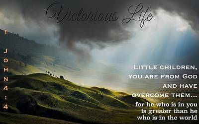Photograph - Victorious Life 326 by David Norman