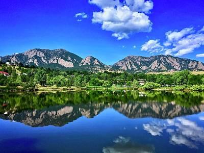 Photograph - Viele Lake by Dan Miller