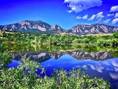 Photograph - Viele Lake 2 by Dan Miller