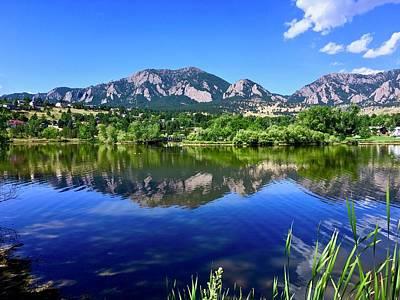 Photograph - Viele Lake 3 by Dan Miller