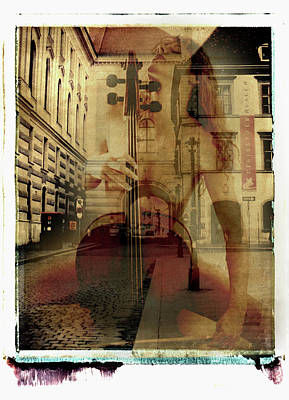 Mixed Media - Viennastrasse by Catherine Sobredo