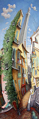 Painting - Vieux Nice by Linda Mccluskey