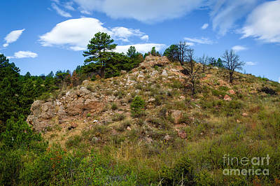Photograph - View From Arthur's Rock Trail by Jon Burch Photography