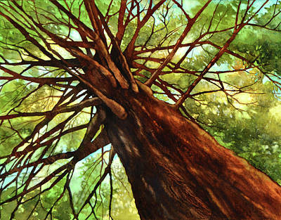 Painting - View From Below by Brenda Jiral