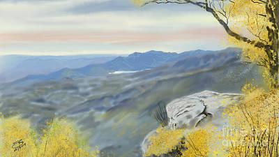 Painting - View From Caesars Head by Joel Deutsch