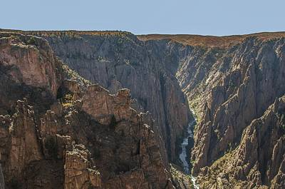 Photograph - View From Kneeling Camel Overlook Black Canyon Of The Gunnison by NaturesPix