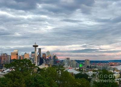 Photograph - View From Queen Anne, by Suzanne Lorenz