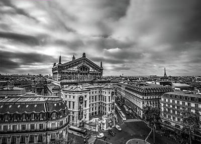 Photograph - View from Rooftop Lafayette by Evi Novak