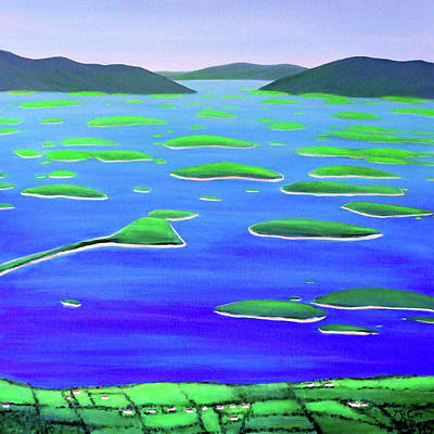 Painting - View from the Mountain by K McCoy