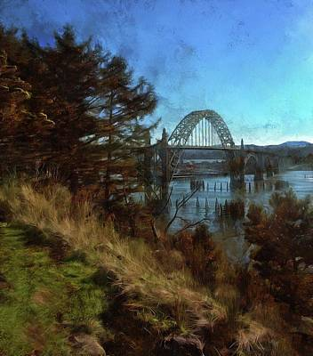 Photograph - View From Yaquina Bay Park by Thom Zehrfeld