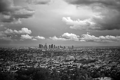 Photograph - View Of Downtown La From Griffith by Stephen Albanese