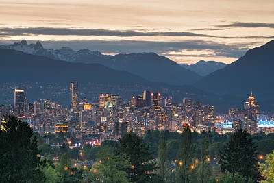 Photograph - View Of Downtown Vancouver by Michal Cialowicz