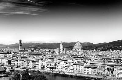 Photograph - View Of Florence From Piazzale Michelangelo by John Rizzuto