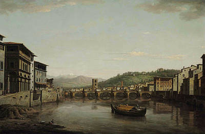 Painting - View Of Florence by William Marlow