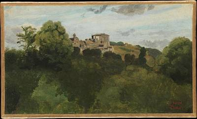 Beastie Boys - View of Genzano 1843 by Camille Corot