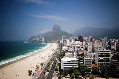 Photograph - View Of Ipanema Beach In Rio De Janeiro by Zxvisual