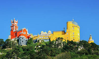 View Of Pena National Palace, Sintra, Portugal, Europe Art Print