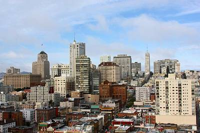 Photograph - View Of San Francisco by J.castro