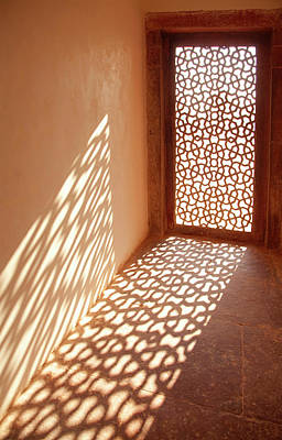 Photograph - View Of Sun Coming Through Window by Grant Faint