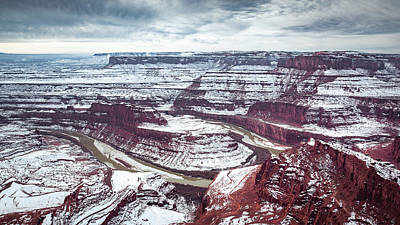Photograph - View Of The Colorado River From Dead Horse Point by Jeanette Fellows