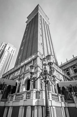 Photograph - View Of The Venetian Hotel  by Alex Grichenko