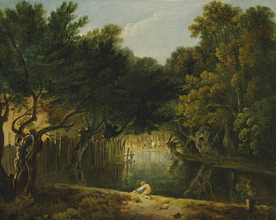 Painting - View Of The Wilderness In St. James's Park by Richard Wilson