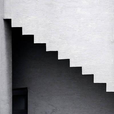 Photograph - View Of Upside Down Steps by Jurek Durczak