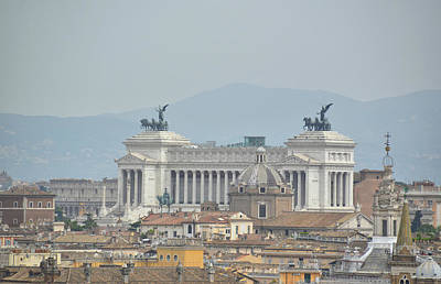 Photograph - View Of Vittoriano by JAMART Photography