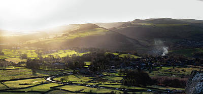 Photograph - View Over Curbar Edge by Scott Lyons