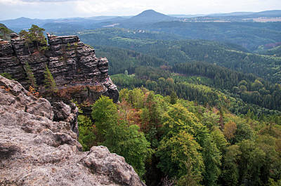 Photograph - View To Valley. Bohemian Switzerland by Jenny Rainbow